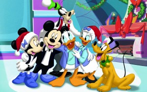 Desktop Wallpaper: Mickey Mouse Charact...