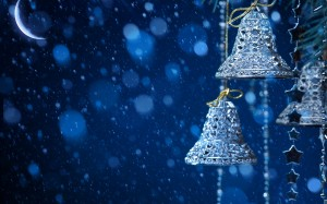 Desktop Wallpaper: Silver Metal Bells A...