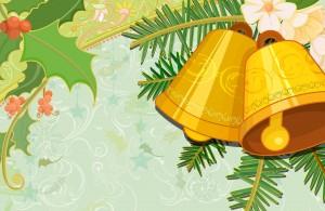 Yellow Bells Illustration - скачать обои на рабочий стол
