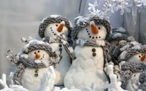 Desktop Wallpaper: Snowman