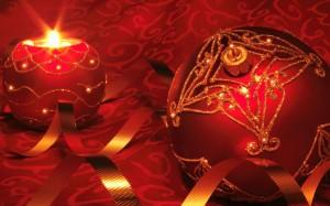 Desktop Wallpaper: Red And Gold Decorat...