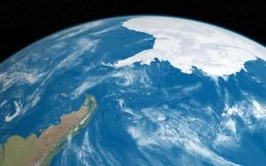 Desktop Wallpaper: Earth Illustration