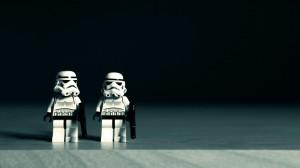 Desktop Wallpaper: Storm Trooper Lego