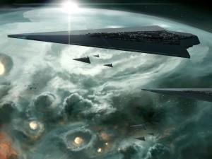 Desktop Wallpaper: Star Destroyer From ...