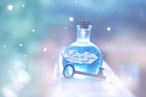 Desktop Wallpaper: Clear Glass Potion B...