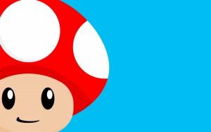 Desktop Wallpaper: Red Mushroom From Su...