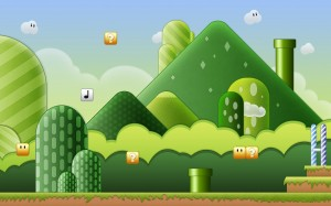 Desktop Wallpaper: Super Mario Bros Gam...