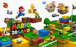 Desktop Wallpaper: Super Mario 3d Land