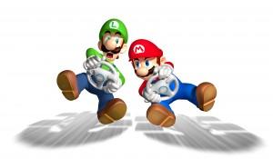Desktop Wallpaper: Super Mario Characte...