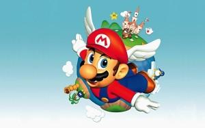 Desktop Wallpaper: Super Mario Illustra...