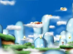 Desktop Wallpaper: Mario From Mario Bro...