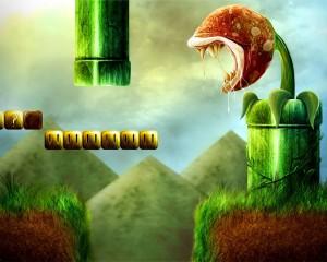 Desktop Wallpaper: Super Mariobros Game