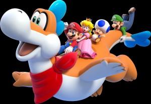 Desktop Wallpaper: Super Mario And Frie...