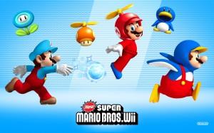 Desktop Wallpaper: Wii Super Mario