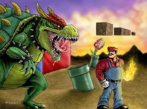 Desktop Wallpaper: Super Mario And Bows...