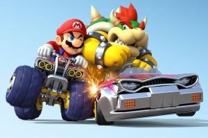 Desktop Wallpaper: Super Mario Kart