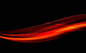 Desktop Wallpaper: Red And Black Painti...