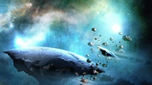 Desktop Wallpaper: Galaxy Meteorite