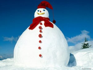 Desktop Wallpaper: Frosty the Snowman