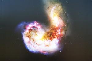 Desktop Wallpaper: Galaxy Portrait
