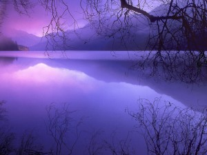Desktop Wallpaper: Blue Fog