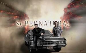 Desktop Wallpaper: Supernatural Title S...