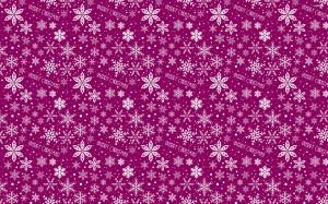 Desktop Wallpaper: Pink And White Snowf...