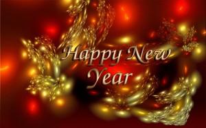 Happy New Year Illustration - скачать обои на рабочий стол