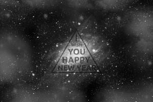 Desktop Wallpaper: I Wish You Happy New...