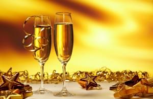 Desktop Wallpaper: Champagne Flutes