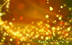 Desktop Wallpaper: Yellow String Lights