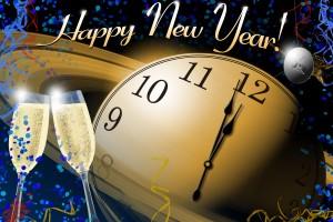 Desktop Wallpaper: Happy New Year Greet...