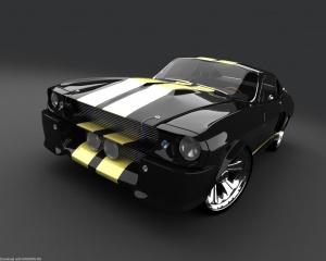Desktop Wallpaper: Lined Car