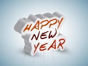 Desktop Wallpaper: Happy New Year Clip-...
