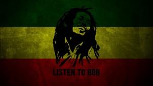 Desktop Wallpaper: Bob Marley Illustrat...