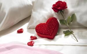 Desktop Wallpaper: Red Rose Flower