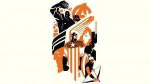 Desktop Wallpaper: Superheroes Illustra...