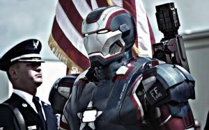 Desktop Wallpaper: Iron Man Patriot