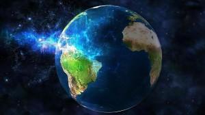 Desktop Wallpaper: Earth Planet Illustr...