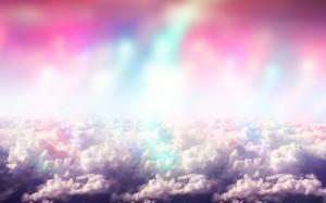 Desktop Wallpaper: White Clouds