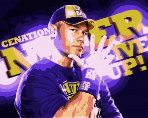 Desktop Wallpaper: Jon Cena High Satura...