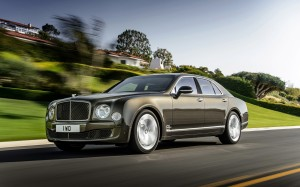 Desktop Wallpaper: Gray Bentley Contine...