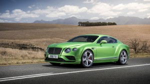 Desktop Wallpaper: Green Bentley Contin...