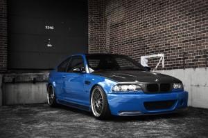 Desktop Wallpaper: Black And Blue BMW M...