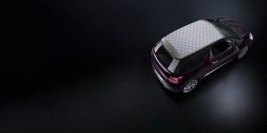 Desktop Wallpaper: Purple Toy Car On Bl...