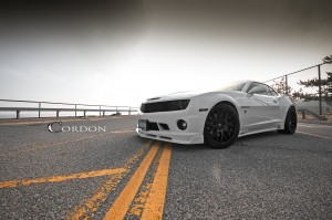 Desktop Wallpaper: White Chevrolet Musc...