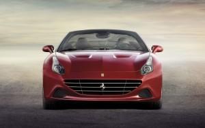 Desktop Wallpaper: Maroon Ferrari F12 B...