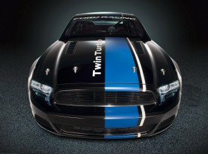 Desktop Wallpaper: Black And Blue Ford ...