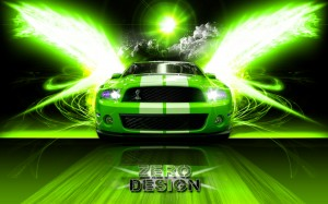 Desktop Wallpaper: Green And White Must...