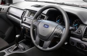 Desktop Wallpaper: Grey Ford Multifunct...